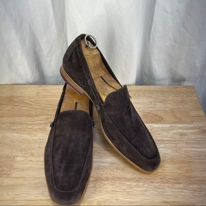 Paul Smith brown suede loafers